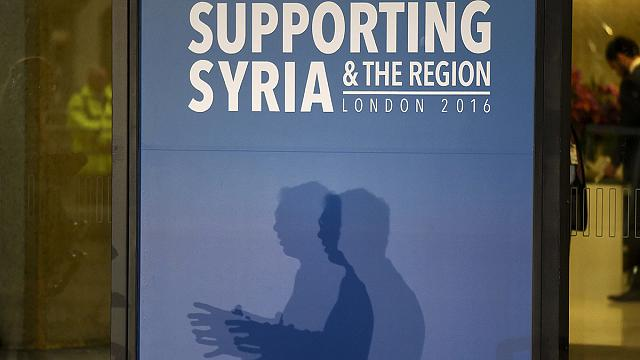 Suriye için insani yardım konferansı Londra'da başladı
