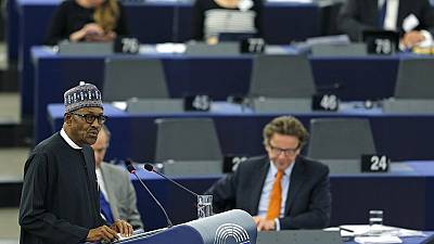 Rescuing Chibok girls still  a priority, Buhari tells EU Parliament