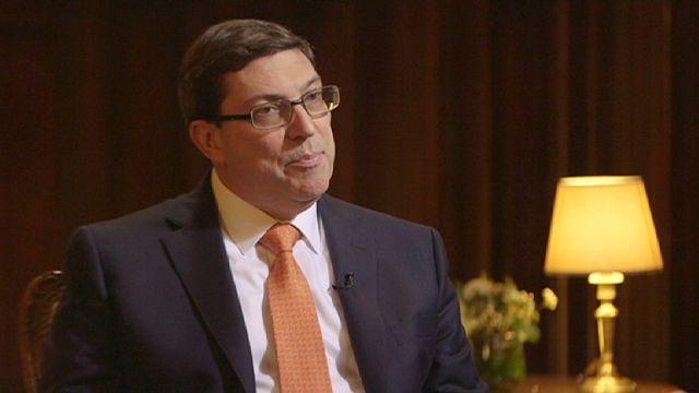 وزير الخارجية الكوبي : لن يكون هناك تطبيع للعلاقات دون وقف الحظر بشكل نهائي