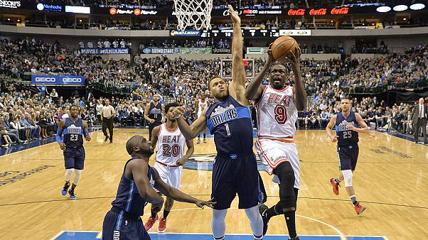 NBA: Miami Heat demasiado quentes para os Mavericks