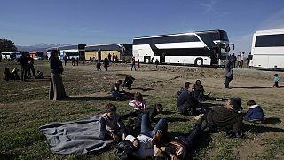 Griechenland: Tausende an Grenze zu Mazedonien gestrandet - Blockade aus Frust über Grenzsperrung