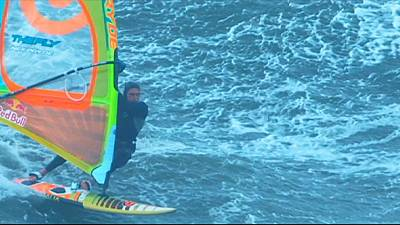 Polakow makes big waves in Portugal