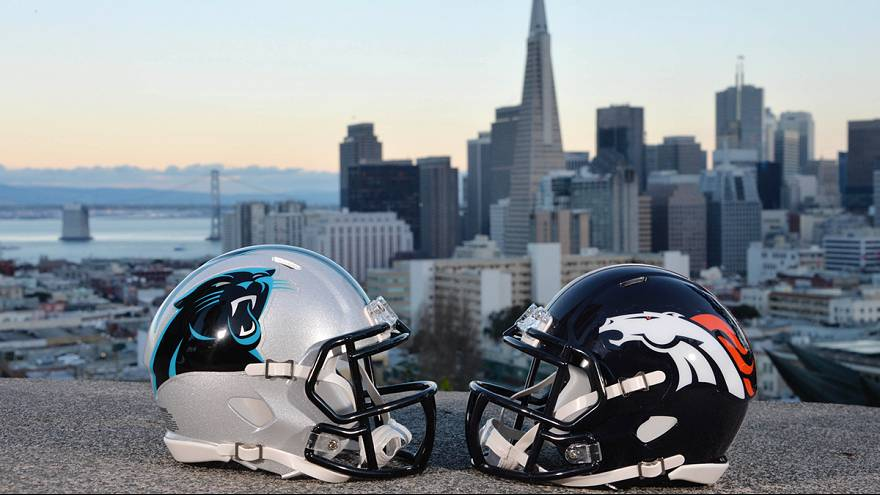 NFL: domenica sera Broncos e Panthers si giocano il 50esimo Super Bowl