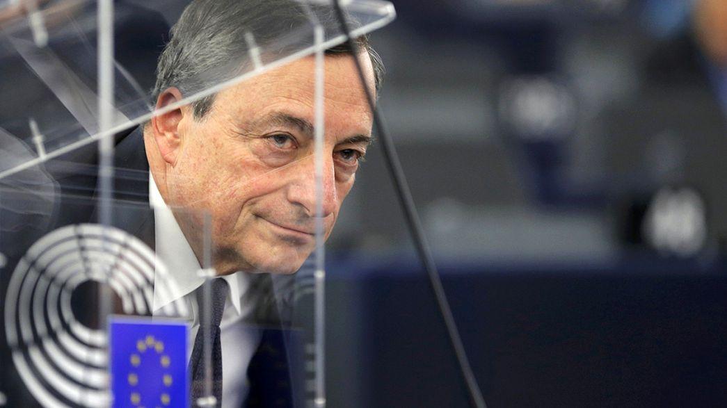 BCE: Mario Draghi pronto a combater a baixa inflação
