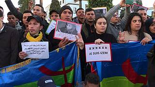 Morocco: Protests in Rabat against the death of Amazigh student