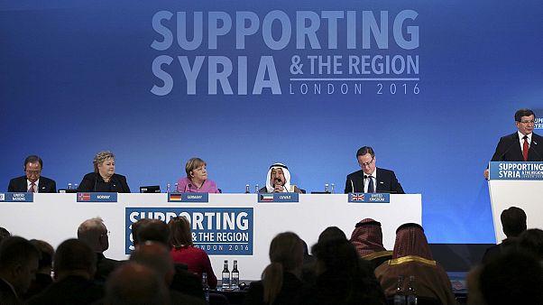 Syrien-Geberkonferenz: Weltgemeinschaft sagt über neun Milliarden Euro zu