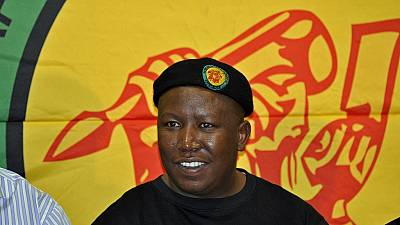 South Africa's Malema refuses Zuma's payout