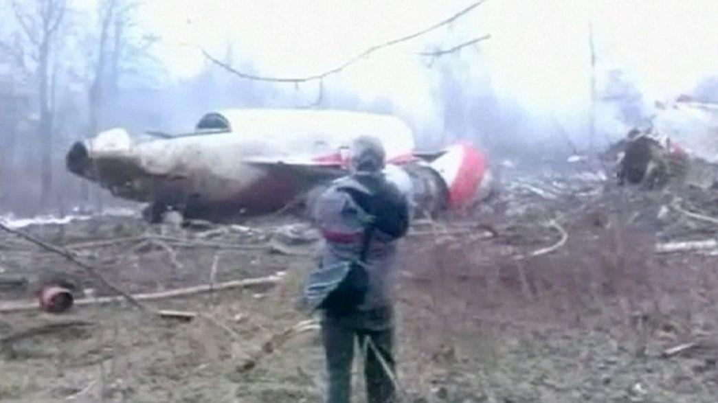 Polonya'yı sarsan kazada sabotaj ihtimali yeniden incelenecek