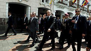 Ecuador: proteste contro Erdogan