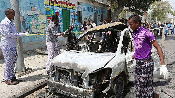 Car bomb kills three at Mogadishu airport
