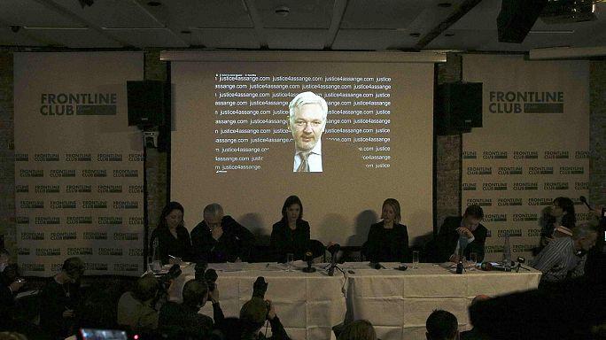 Assange appelle la Suède et le Royaume-Uni à respecter la décision de l'ONU