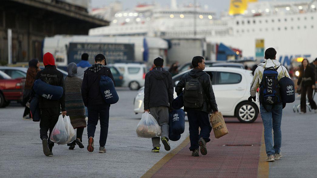 Da chegada a Lesbos à desilusão do regresso
