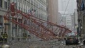 [Video] Etats-Unis: Une grue s'effondre à New York, un mort, plusieurs blessés