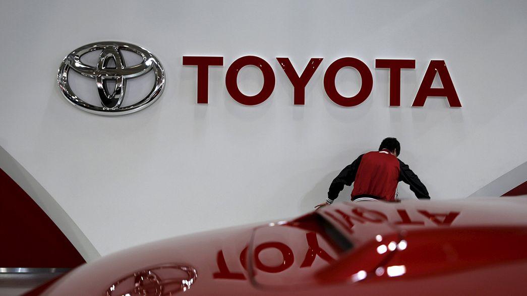 Toyota hat die Nase vorn