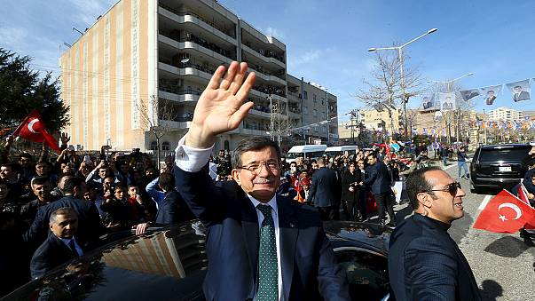 Davutoglu promises 'rose garden' in Turkey's Kurdish south-east