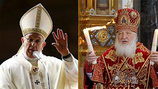 Папа римский и глава РПЦ встретятся впервые в истории