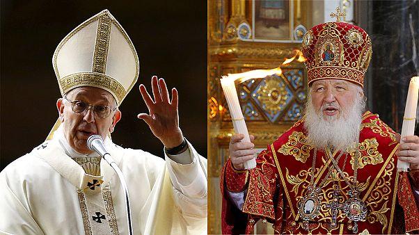 رهبران دو شاخه اصلی مسیحیت بزودی برای اولین بار دیدار می کنند