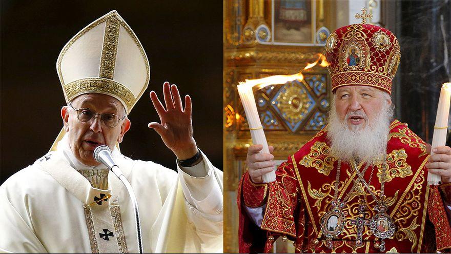 Le pape et le chef de l'Eglise russe vont se rencontrer pour la première fois