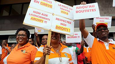 Ivory Coast: State oil company workers extend strike