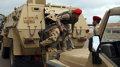 Egypt kills a dozen militants in Sinai