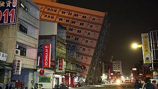 Séisme de magnitude 6,4 dans le sud de Taïwan