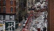 New York: la chute d'une grue géante fait un mort