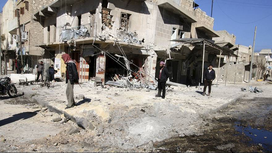 Diplomatic row at the UN highlights the difficulties for peace in Syria