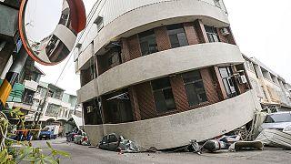 Мощное землетрясение на Тайване, есть жертвы