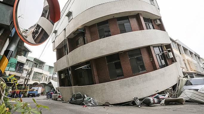 Ten-day-old baby among dead after powerful quake hits southern Taiwan