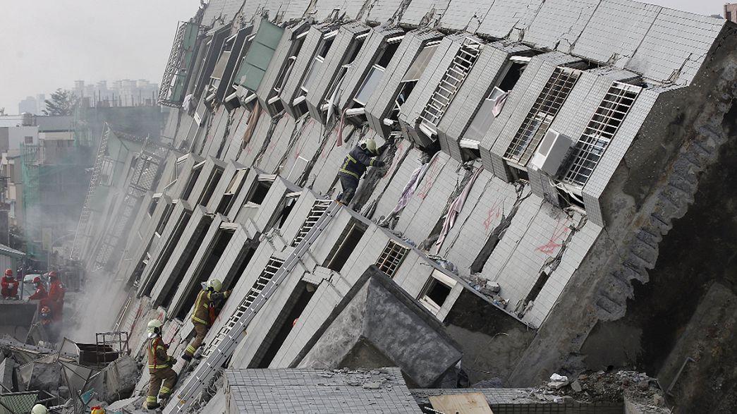 Тайвань сотрясло мощное землетрясение: более десяти погибших, сотни пострадавших
