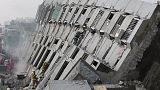 Taiwan: at least 18 killed as earthquake brings down several buildings