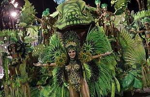 Карнавал в Рио стартовал