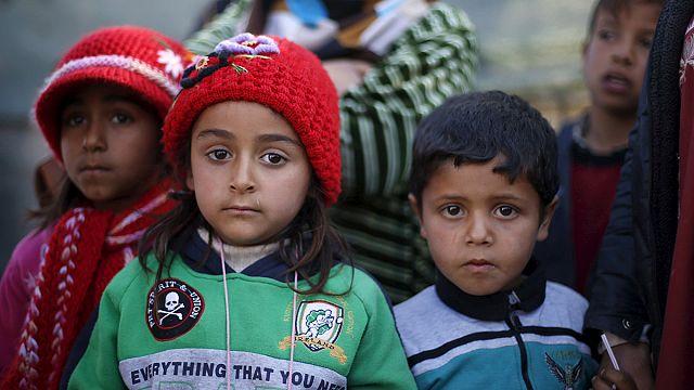 На границе с Турцией скопились 35 тысяч сирийских беженцев