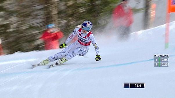 Coupe du monde : Lindsey Vonn écrase la descente de Garmisch-Partenkirchen