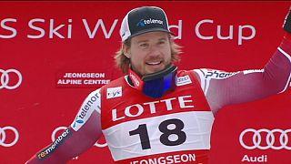 Esqui Alpino: Jansrud vence primeira etapa realizada na Coreia do Sul