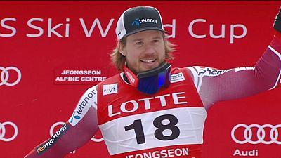 Erster Saisonsieg in der Abfahrt für Kjetil Jansrud