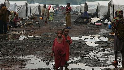 DR Congo refugees express anger over poor living conditions after expulsion from neighbouring Congo