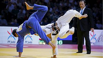 Agbegnenou thrills the French on home tatami in judo's Paris Grand Slam