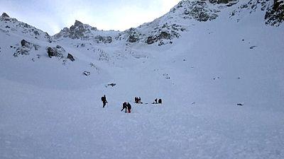 Cinco esquiadores muertos en una avalancha en Austria