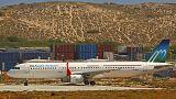 Somali uçağına bomba konulmuş