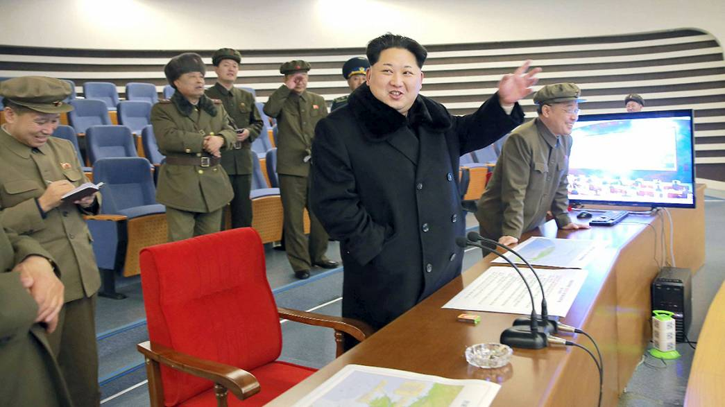Nordkorea startet Rakete
