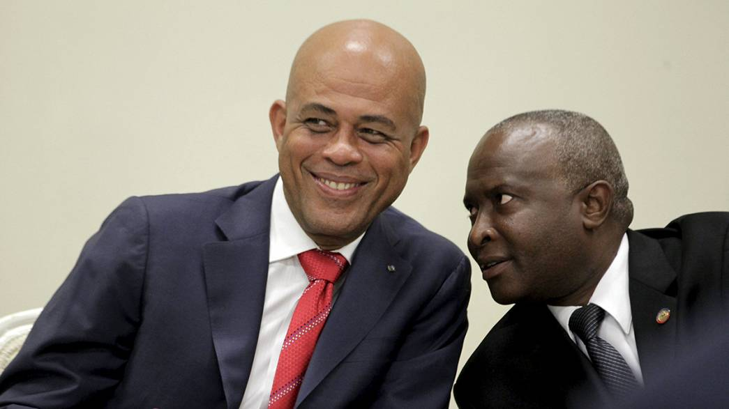 Haiti leaders clinch last-minute deal to form interim government
