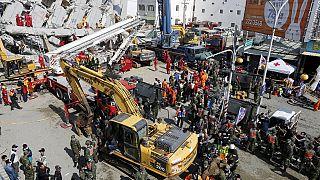 Taïwan / Séisme : peu de chance de retrouver des survivants