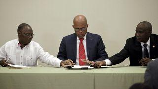 Haïti : accord pour un gouvernement de transition