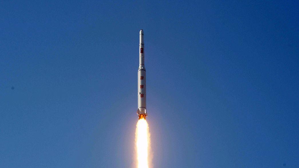 """Reaktionen auf Raketenstart: """"Wir müssen als Weltgemeinschaft zusammenstehen"""""""