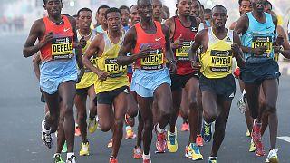 Le Kenyan Abraham Kiptum remporte l'inaugural marathon de Lagos au Nigeria