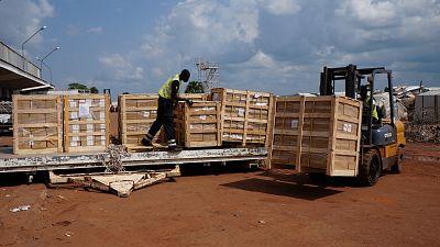 Centrafrique: arrivée des bulletins de vote pour les élections