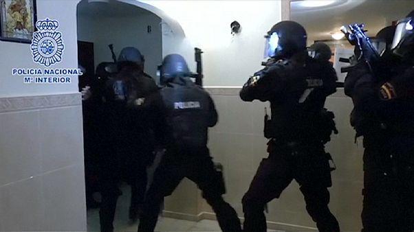 Dzsihadista sejtre csaptak le Spanyolországban