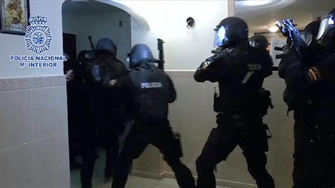 Espanha: Alegados terroristas detidos em Alicante, Valência e Ceuta