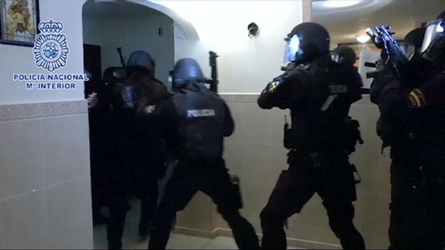 İspanya'da terör operasyonu: 7 gözaltı
